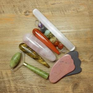 Masszírozó és funkciós eszközök, gyógyító pálcák