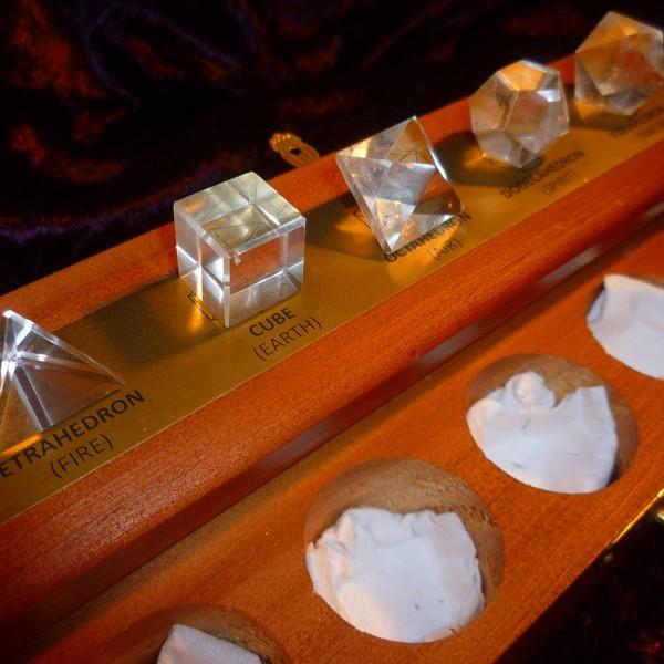 Platonikus Testek Hegyikristályból